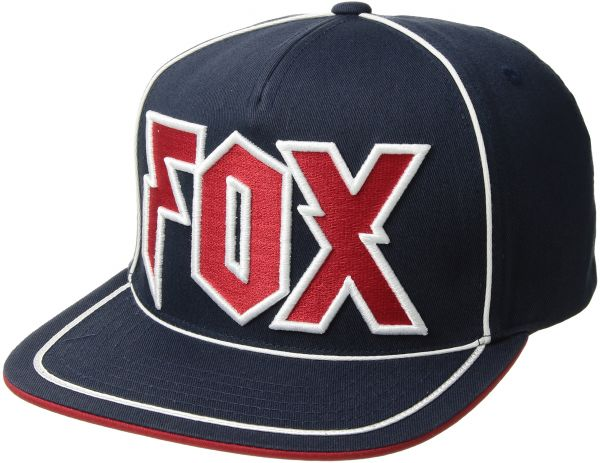 Fox Men s Flat Bill Snapback Hat bb4837f6728