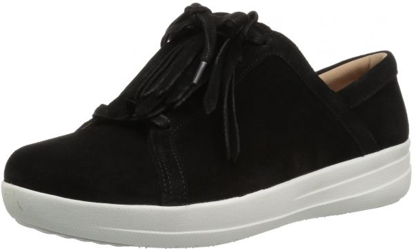 c9be20cfc5e3 FitFlop Women s F-Sporty II Lace up Fringe Sneaker