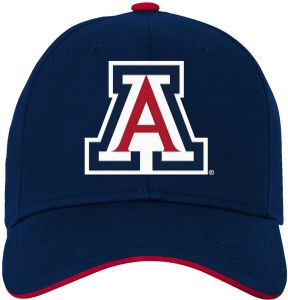 697a6895c2bca NCAA Arizona Wildcats Kids   Youth Boys Basic Structured Adjustable Hat