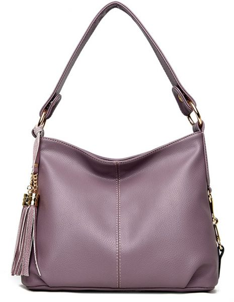 93021940cb NOTAG PU Leather Hobo Handbag Top Handle Shoulder Bag Tote Bags with Tassel Crossbody  Bag Designer Fashion Durable Hobo Style Purse Satchel for Women