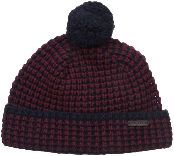 adf628fac84 Ted Baker Men s Walhat Knitted Beanie Hat