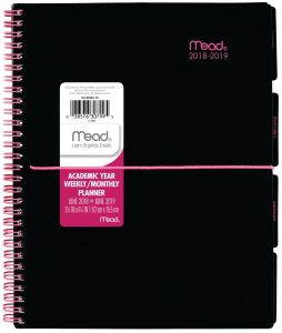 white friday sale on the 2018 weekly planner at a glance mead