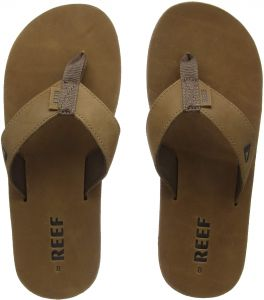 406e8bfce66 Reef Mens Sandals Leather Smoothy