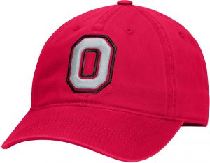 cheaper ac968 8c54b J America NCAA Ohio State Buckeyes Men s Playmaker Slouch Fitted Cap,  Small, Red