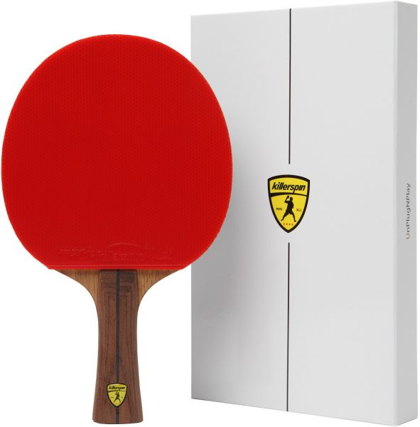 7ec774d37d Killerspin JET800 SPEED N1 Table Tennis Paddle - Ultimate Professional Ping  Pong Paddle with Carbon Layers Pared with Specially Designed Memory Book