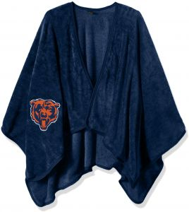 594f9fa53 The Northwest Company Officially Licensed NFL Chicago Bears Silk Touch  Throw Blanket Wrap with Applique