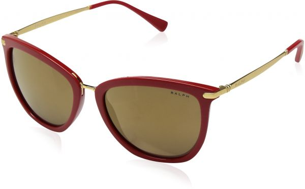 efce3b02156 Ralph by Ralph Lauren Women s 0ra5245 Non-Polarized Iridium Cateye  Sunglasses