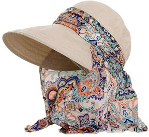 Camouflage Outdoor Sport Hiking Visor Hat UV Protection Face Neck Cover fishing  Sun Protect Cap Best Quality For Women beeeb81893a