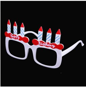 05968a31b9c5 Happy Birthday Candle Sunglasses Novelty Sunglasses for Birthday Gift Party  Supplies