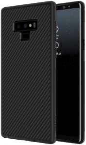 Nillkin Synthetic Fiber Slim Case Cover For Samsung Galaxy Note 9, Black