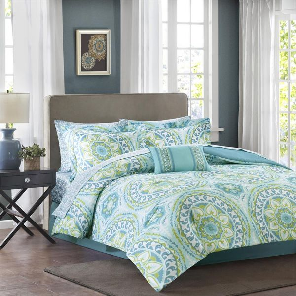 Madison Park Essentials Serenity Full Size Bed Comforter Set Bed In