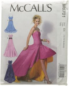 e94adaf23948e McCall Patterns M6701 Misses' Dresses Sewing Template, Size E5  (14-16-18-20-22)