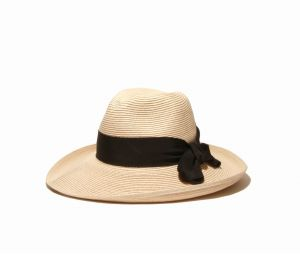 c9a2420dd51 Physician Endorsed Women s Adriana Toyo Straw Fedora Packable Sun Hat