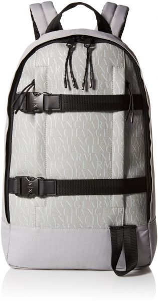 a641c79c01a Armani Exchange Men s Allover Rubber Nylon Backpack