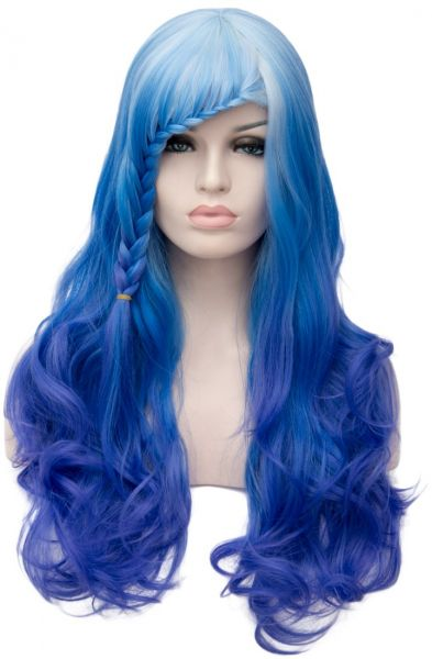 Max beauty Cosplay Anime Wig Long Curly Wave Women Omber Multi ... 9d89a5a734