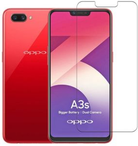 f28cfba6b Tempered Glass Screen Protector For Oppo A3s - Clear