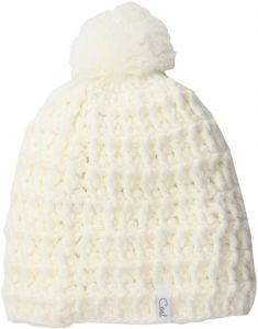 bbaf6a692fb Coal Women s Hand-Crocheted Waffle-Knit Beanie with Pom