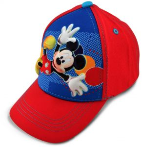 5ca92813ae3 Disney Toddler Boys Mickey Mouse Character 3D Pop Baseball Cap