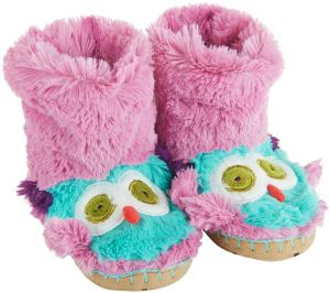 03eed3de4cf Little Blue House By Hatley Toddler Kids Hi-Top Slouch Animal Slipper