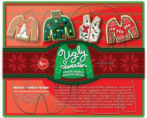 93bb4fd4968c Fox Run 36039 Ugly Christmas Sweather Cookie Cutter Set