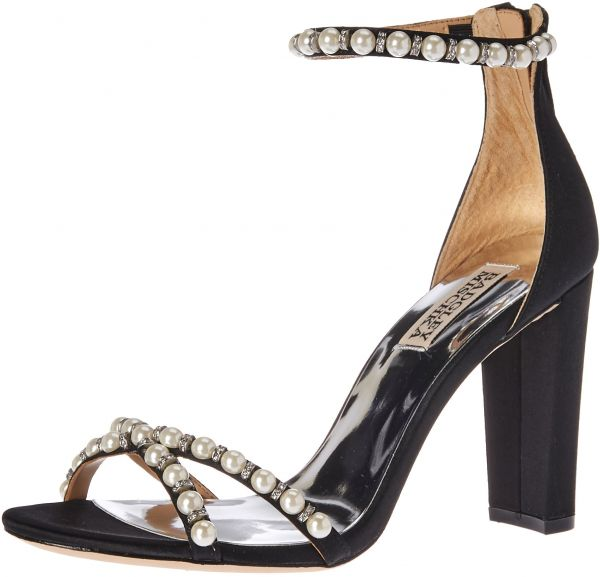51d40088e92 Badgley Mischka Women s Hooper Heeled Sandal