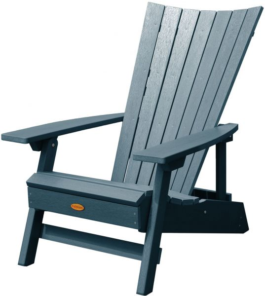 Highwood Manhattan Beach Adirondack Chair Nantucket Blue Ksa Souq