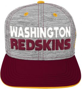 cea3f8abe65 NFL by Outerstuff NFL Washington Redskins Youth Boys Space Dye Snapback Hat  Heather Grey