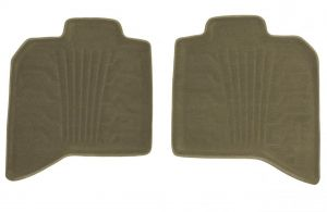 Set of 2 Lund 783102-T Catch-It Carpet Tan Rear Seat Floor Mat