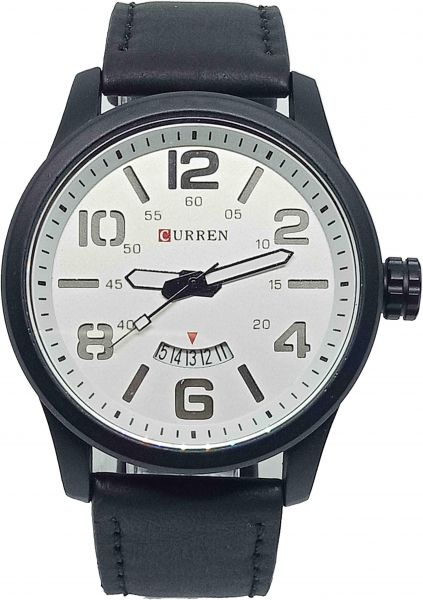 2dd9c135b222 Curren Casual Watch For Men Analog Leather - 54687