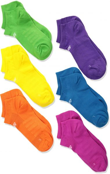 8a4aaea09364 New Balance Children s No Show Socks (6 Pack)