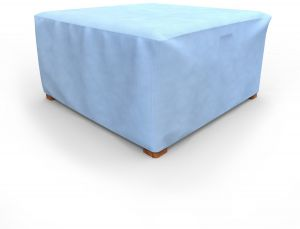 Budge All Seasons Square Patio Table Cover Ottoman Extra Large Blue