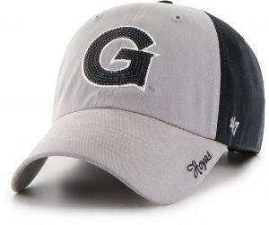 new product 80d8f 96329  47 NCAA Georgetown Hoyas Women s Sparkle Two Tone Clean Up Adjustable Hat,  One Size, Navy