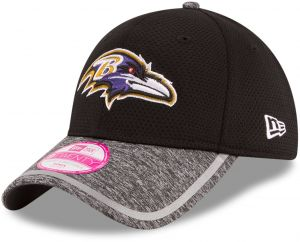 a9613cf1df0 NFL Baltimore Ravens 2016 Women s Training Camp LS 9TWENTY Adjustable Cap