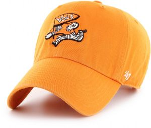 factory authentic 5b2b0 d8458  47 NCAA Tennessee Volunteers Adult NCAA Clean Up H-Series Adjustable Hat,  One Size, Vibrant Orange