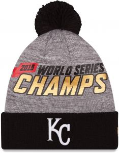MLB Kansas City Royals Adult World Series Champions Locker Room Knit Beanie 6273a6f9f83