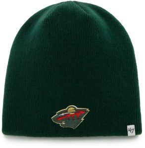 finest selection 9b60a 63455  47 NHL Minnesota Wild Infant Beanie Knit Hat, One Size, Dark Green