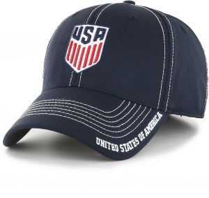 OTS World Cup Soccer United States Adult Start Line Center Stretch Fit Hat 879d03b5c1b