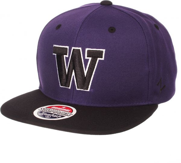 6e7a71dfca3 Zephyr NCAA Washington Huskies Men s Z11 Static Snapback Hat ...