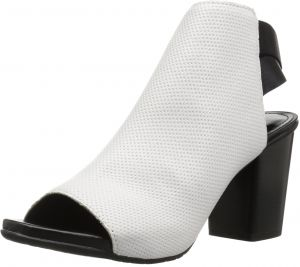 28072729de90d1 Kenneth Cole REACTION Women s Fridah Fly Toe and Open Heel Bootie Ankle  Boot