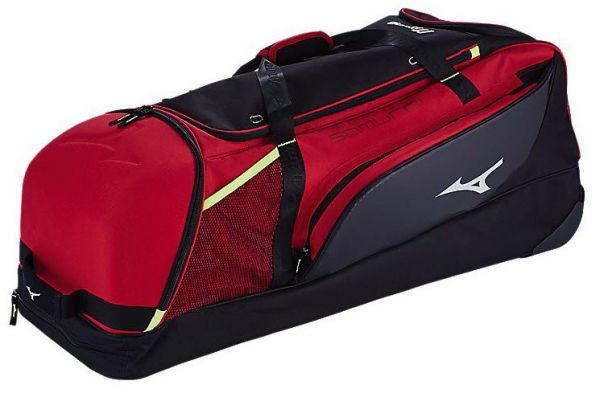Mizuno 3602711090010000 Samurai Catchers Wheel Bag One Size Red