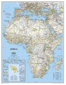 Buy national geographic maps united states classic wall map ...