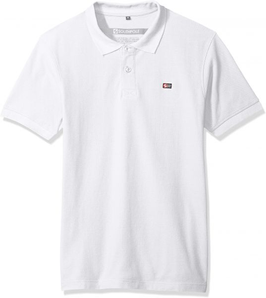7413c2f825 Southpole Men s Classic Short Sleeve Solid Polo Shirt