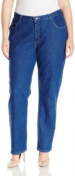 82db2137fcf Riders by Lee Indigo Women s Plus Size Camden Relaxed Fit 5 Pocket Jean