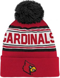 3ed75d5fcb0 Outerstuff NCAA Louisville Cardinals Children Boys Cuffed Knit with Pom Hat