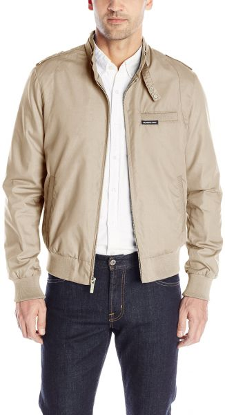 Members Only Men S Original Iconic Racer Jacket Khaki Xxl Souq Uae