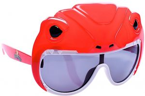 0c733c01feb1 Sunstaches Lil  Characters Mighty Morphin  Power Rangers Red Power Ranger  Kids Character Sunglasses