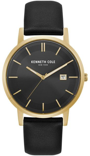 78462e6373b Kenneth Cole Men s Black Dial Genuine Leather Band Watch - KC15202002. by Kenneth  Cole