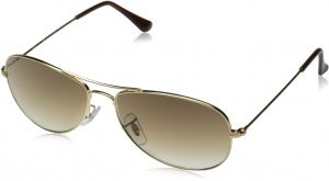 5ede5944c5 Ray-Ban COCKPIT - ARISTA Frame CRYSTAL BROWN GRADIENT Lenses 56mm Non- Polarized