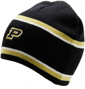 innovative design c76f7 f1514 Ouray Sportswear NCAA Purdue Boilermakers Adult Unisex Engager Beanie, One  Size, black Vegas Gold White