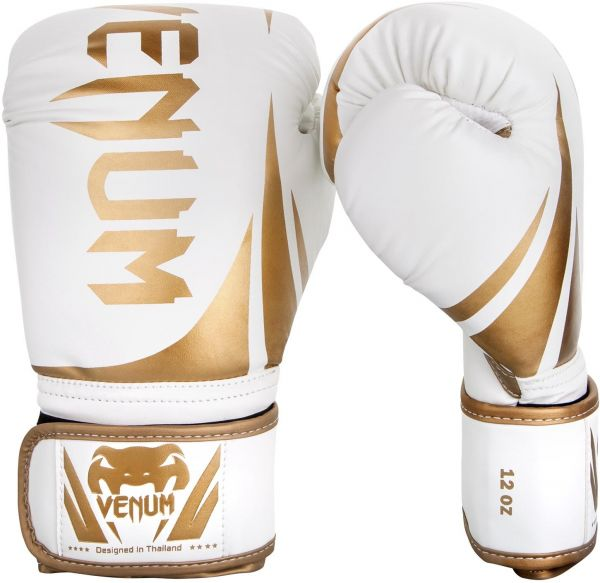745061c4b13 Venum Challenger 2.0 Boxing Gloves - White Gold - 10-Ounce